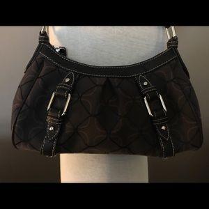 NWOT Nine West shoulder bag. Brown & Black pattern
